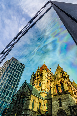 Trinity Church Reflection - Boston