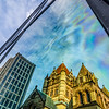 Trinity Church Reflection - Boston