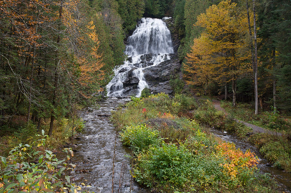 Waterfall in the North Woods region of NH