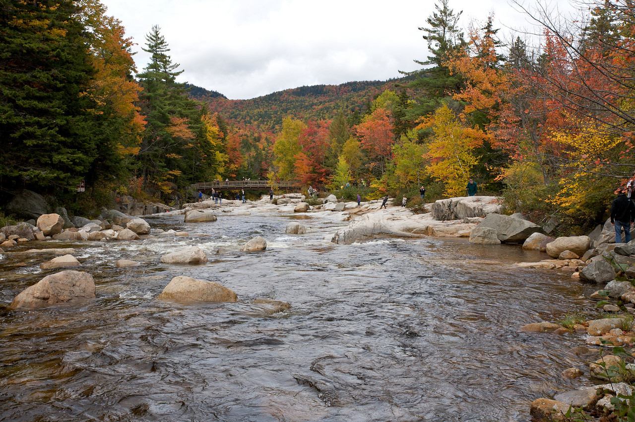 Along the Kancamagus Highway, NH
