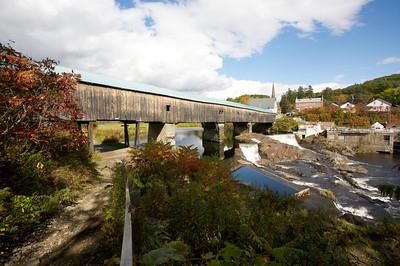 Bath, NH Wood Bridge