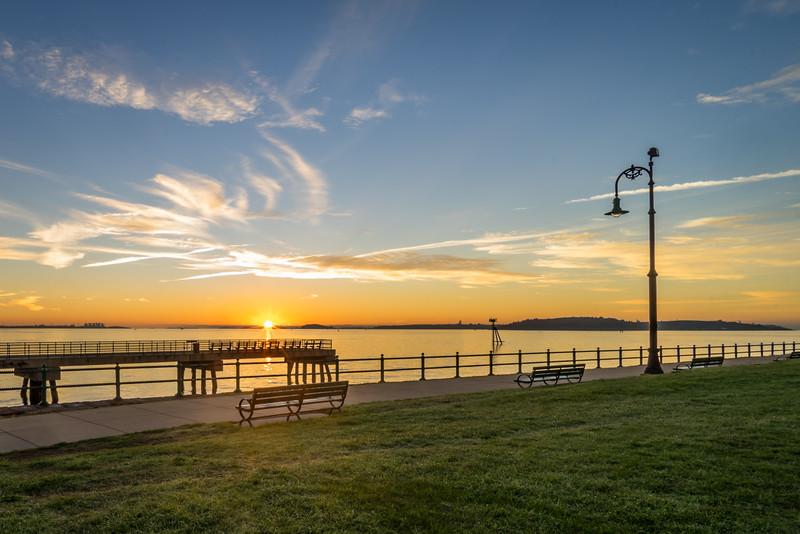 Castle Island Sunrise - Boston, MA - Tom Sloan