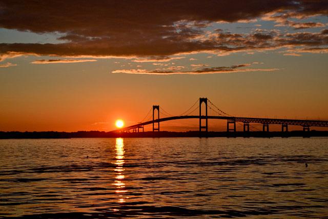 Sunset Passage. Newport, RI<br /> Angela Litterio