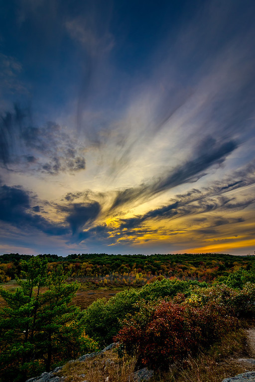 Wrentham - Sunset Autumn