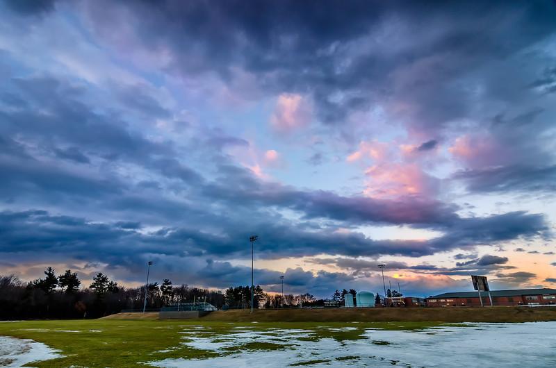 Big Sky over a Small Town - Hopkinton, MA