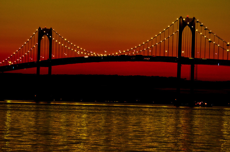 Bridge to Newport: Newport RI. Order limited addition print of 100