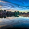 Howard Pond Reflections - Cumberland, RI