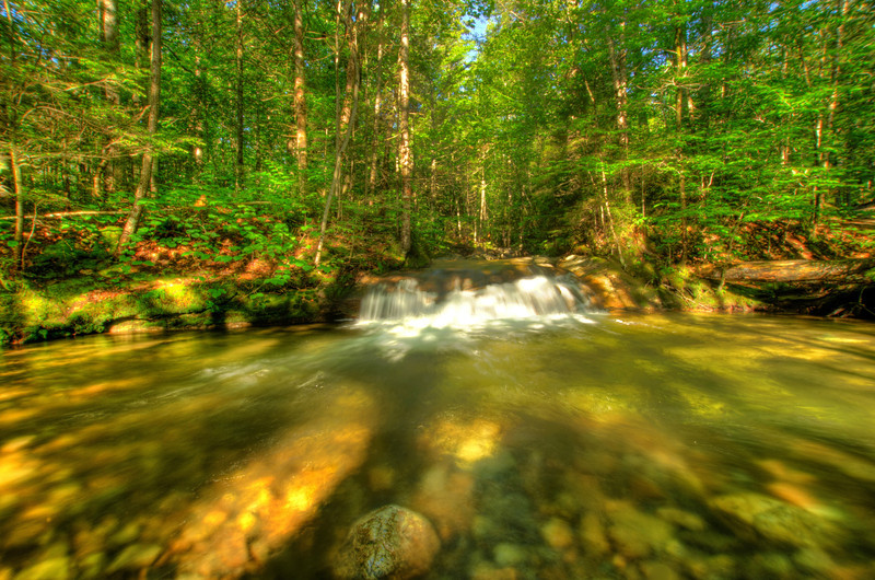 Cascade: White Mountains, NH. Order limited addition print of 100.