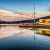 Boathouse at Dawn - Hopkinton MA - Tom Sloan
