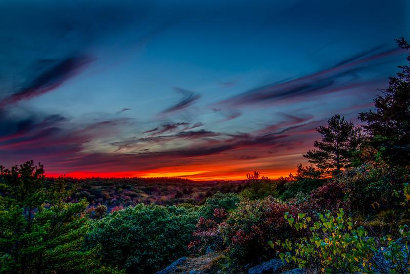 Sunset at Joe's Rock 1