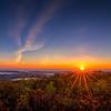 Sunrise at Wachusett Mountain
