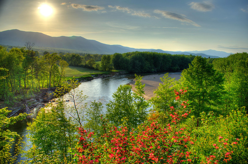 Spring Sunset: Conway, NH. Order limited addition print of 100