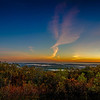 Sunrise Panorama from Mount Wachusett - Princeton, MA