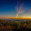 Sunrise Panorama from Mount Wachusett - Princeton, MA