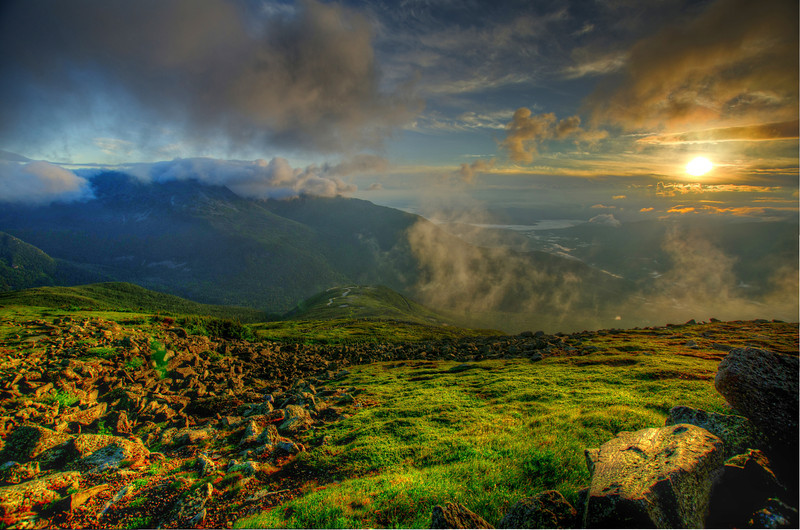 Morning Glory: Auto Rd, Mt Washington, NH. Order limited addition print of 100.
