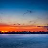 Sunset at Lake Winthrop - Holliston, MA