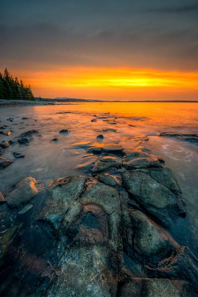 Seawall Sunrise #2 - Acadia National Park, Maine