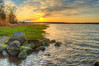 Sunset over the great bay, Stratham, NH, order limited addition print of 100