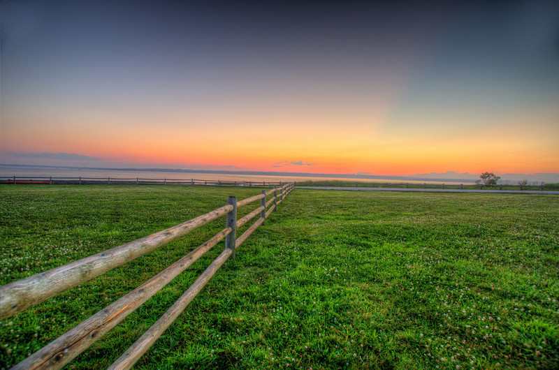 Infinity Fence: Jamestown, RI. Order limited addition print of 100.