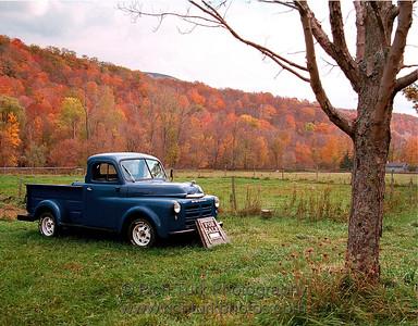 Antique Dodge Truck, Near Williamstown, MA