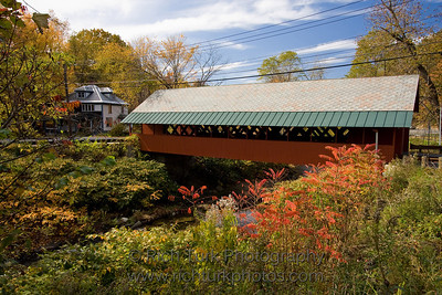 Creamery Covered Bridge, Brattleboro, Vermont