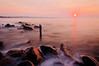 A soft sunrise, Narraganset, RI, order limited addition print of 100