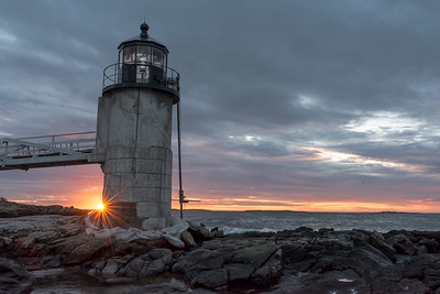 Marshal Point Lighthouse at sunrise. HM in Digital Travel, N4C April 2018.