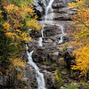 Silver Cascade in Crawford Notch State Park