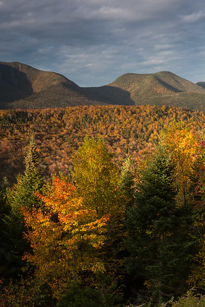 Another vista along the Kancamagus Highway.
