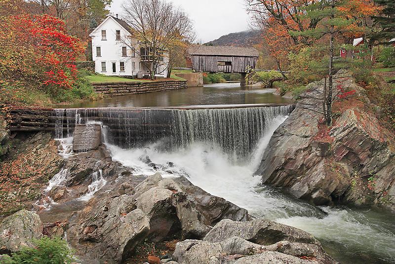085Warren Cover Bridge-Vermont