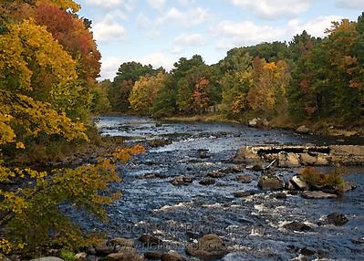 Contoocook River, Henniker, New Hampshire