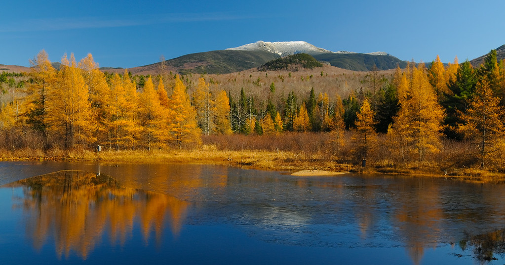 Fall 2008, Mt. Lafayette from Well Road, Franconia, NH