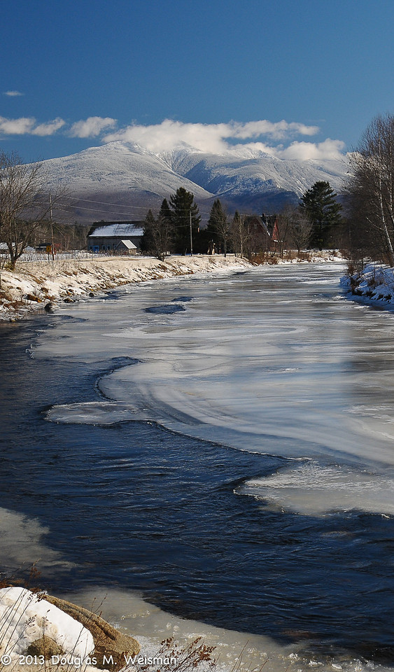 Gale River and Mt. Lafayette, Franconia, NH.