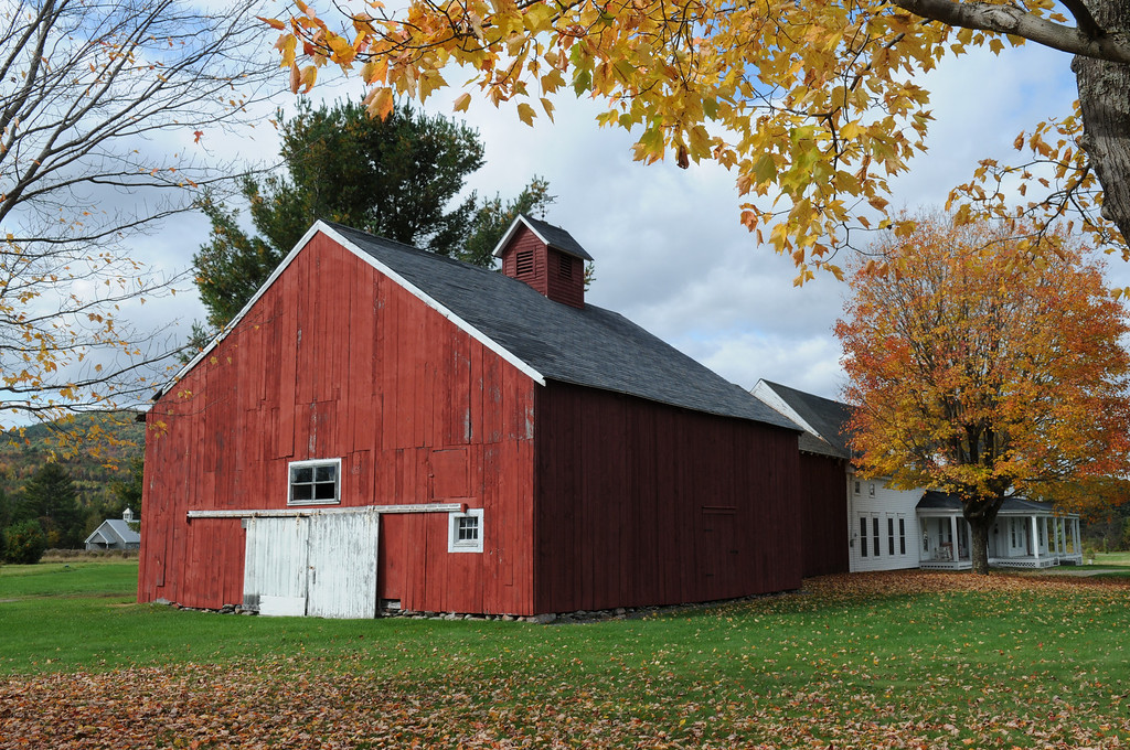 Fall 2008, Barn on Easton Road, Franconia, NH.