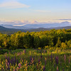 Sunset over the White Mountains- Sugar Hill NH