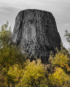 Devils Tower in the Fall