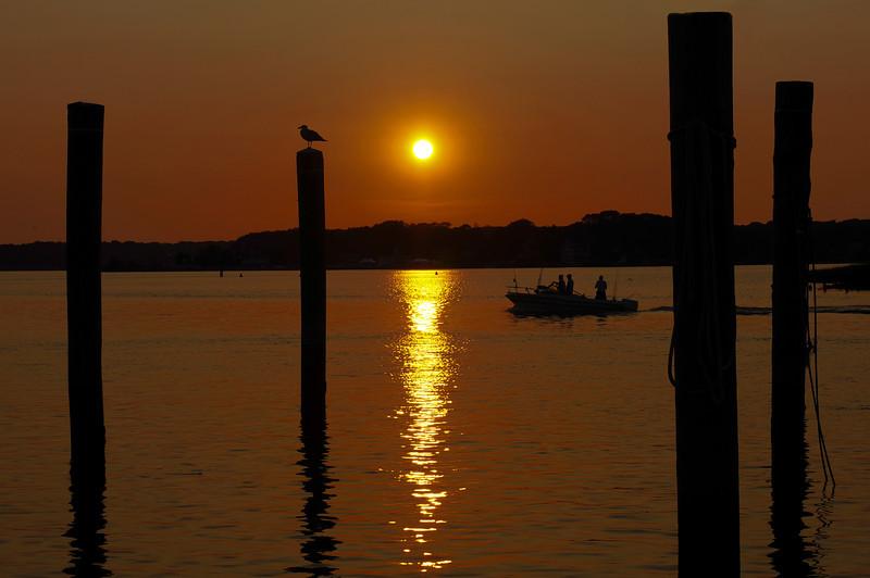 Sunset, Shark River, Belmar, NJ  07/19/13