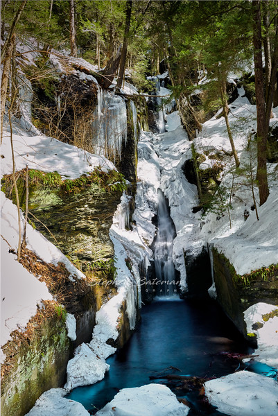 Dingman, Silverthread Falls, Winter