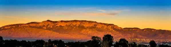 Sandia Mountains.