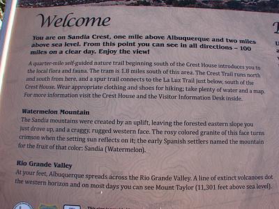 Sandia Crest, Albuquerque, New Mexico  http://byways.org/explore/byways/2086