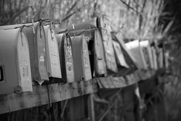Mailboxes; Placitas, New Mexico