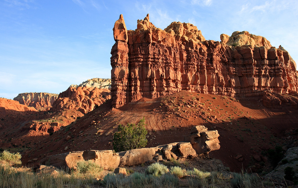 Sandstone formation near Abiququ