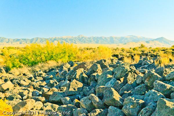 A landscape taken Nov. 1, 2011 near Carrizzo, NM.