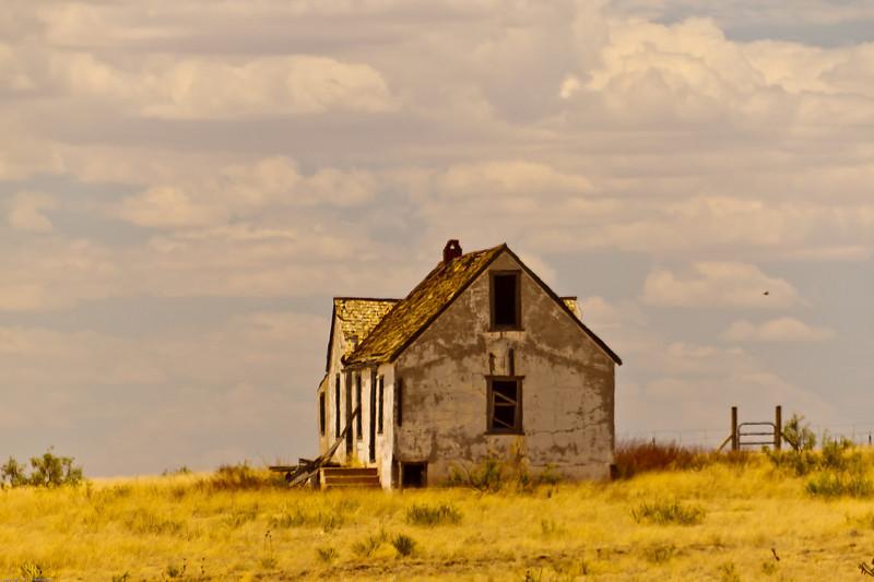 A landscape taken July 17, 2011 near Kenna, NM.