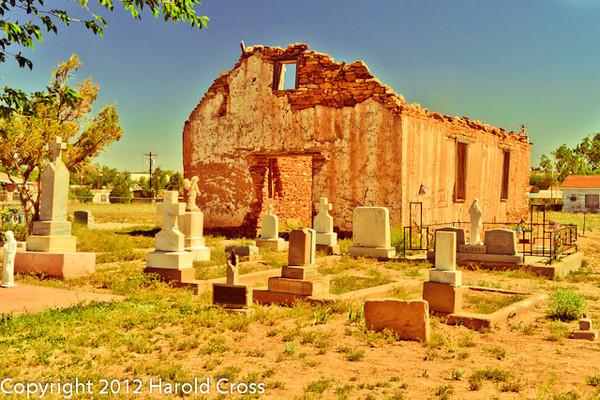 A landscape taken April 27, 2012 in Santa Rosa, NM.