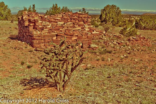 A landscape taken April 27, 2012 near Las Vegas, NM.