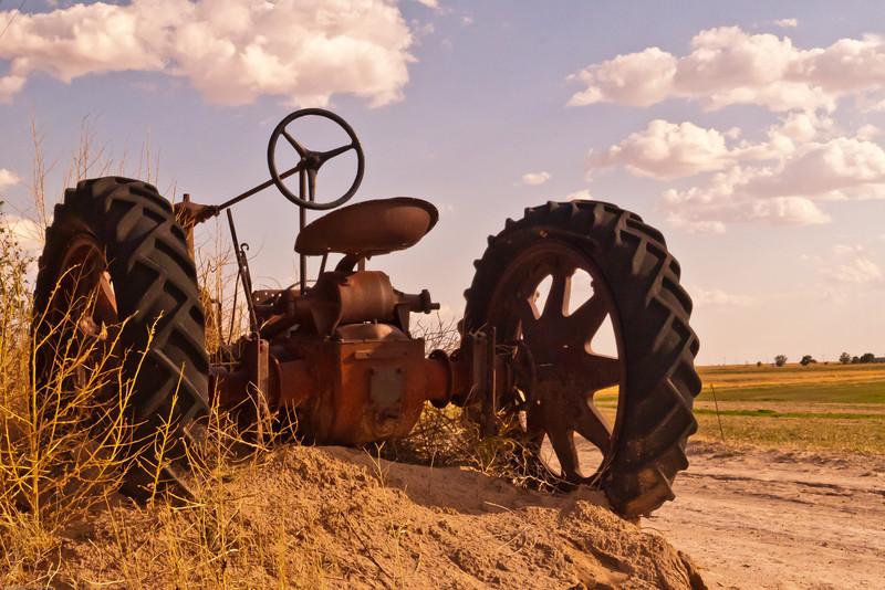 A landscape taken July 3, 2011 near Portales, NM.