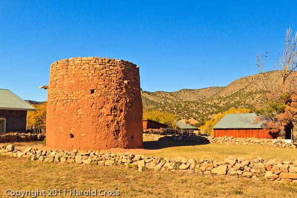 A landscape taken Nov. 1, 2011 in Lincoln, NM.