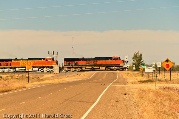 A landscape taken Oct. 29, 2011 near Melrose, NM.