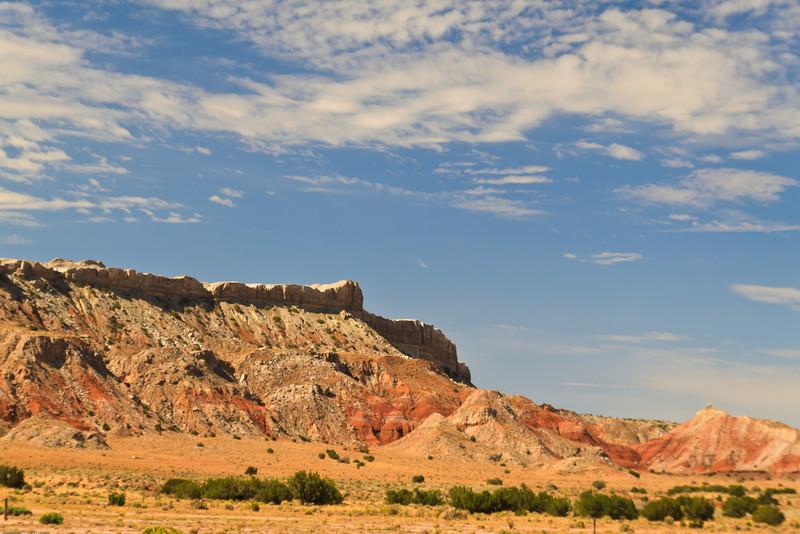 A landscape taken July 21, 2011 near Bernalillo, NM.